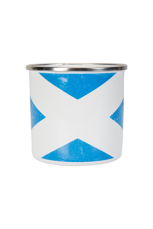 Rustic Scotland Enamel Mug - Blue