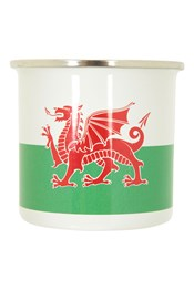 Rustic Wales Emaille-Tasse