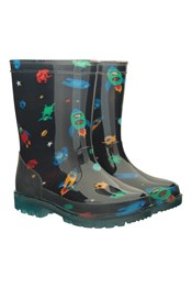 Splash Junior Flashing Lights Rain Boots