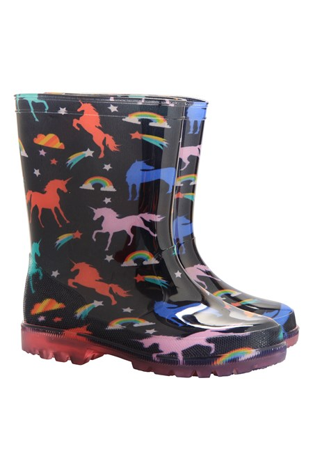 026167 SPLASH JUNIOR KIDS FLASHING LIGHTS WELLY