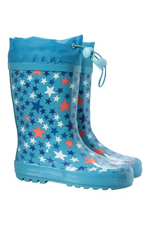 Kids Sunny Rubber Wellies