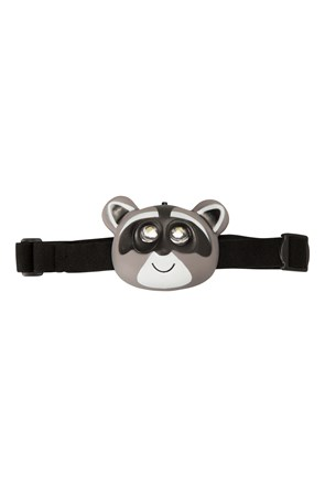 Racoon Character Head Torch