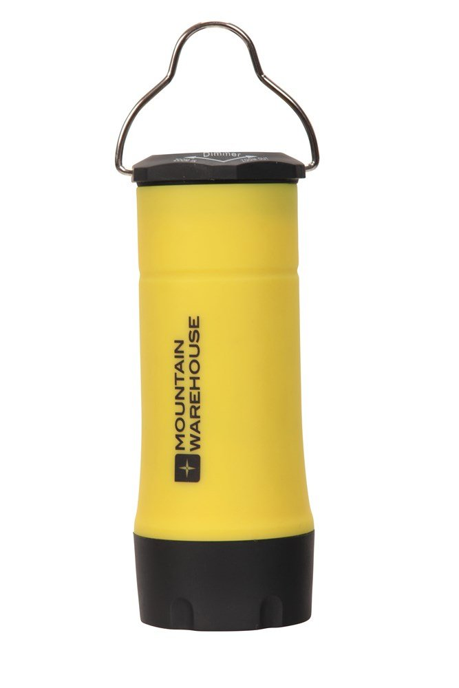 2-in-1 Rubber Torch - Yellow