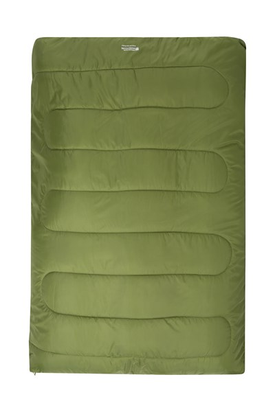 Basecamp 200 Double Sleeping Bag - Green