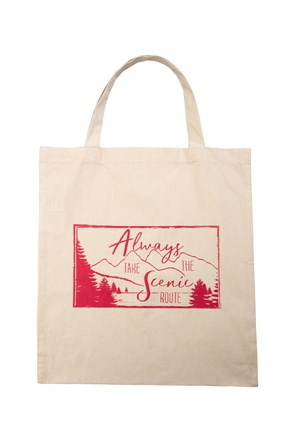 Scenic Route Shopping Bag