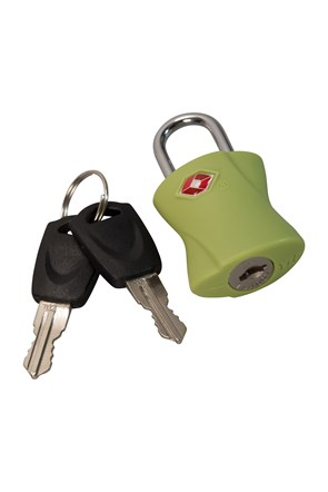 TSA Key Padlock With Keys