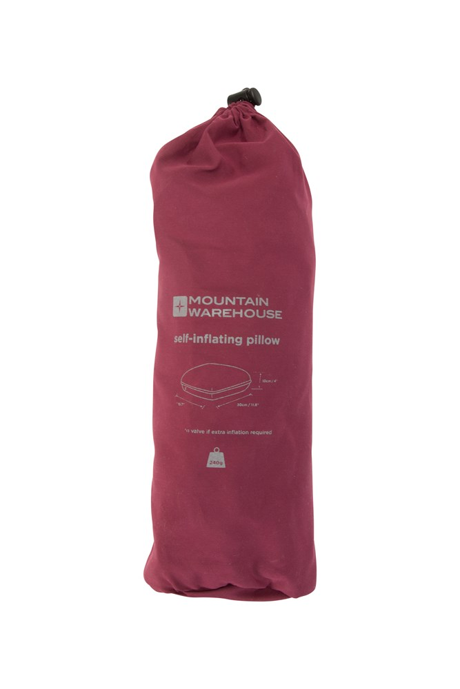 Self-Inflating Pillow - Red