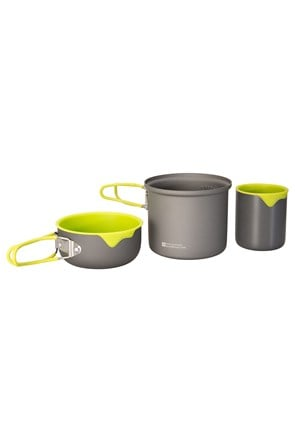 Solo Hard Anodised Cookset