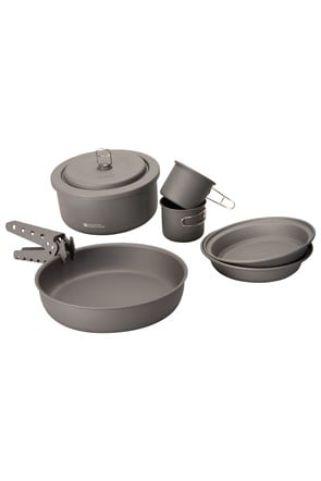 Ultimate Hard Anodised Cookset