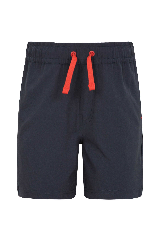 Kids Run It Shorts - Grey