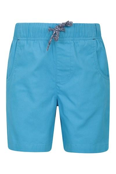 Waterfall Kids Shorts - Blue
