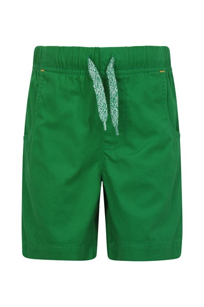 Waterfall Kids Shorts - Green