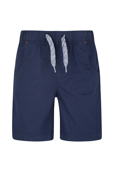 Waterfall Kids Shorts - Navy