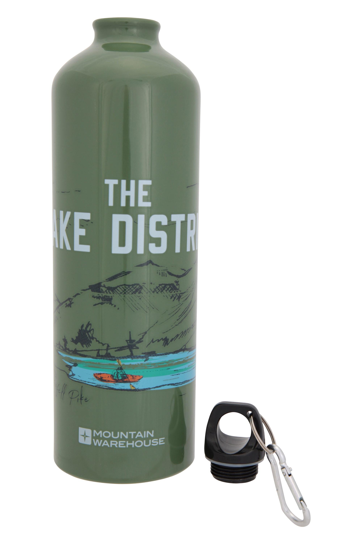 Pendeln Mountain Warehouse Trinkflasche aus Metall mit Karabiner Wandern