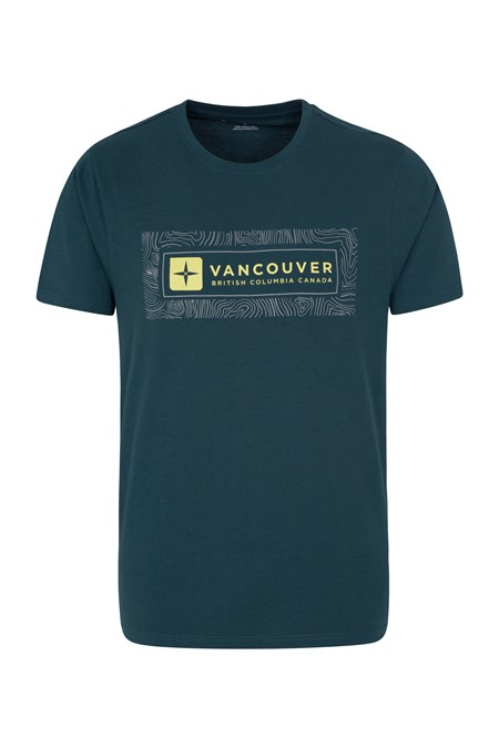 026426 VANCOUVER CONTOUR MAP TEE