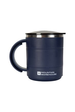 Plastic Double Walled Mug - 420ml