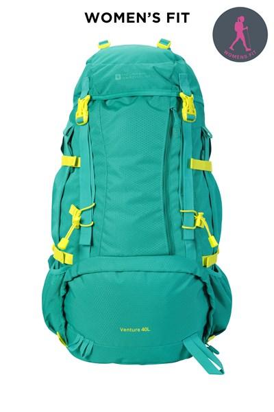 Venture 40L Backpack - Green