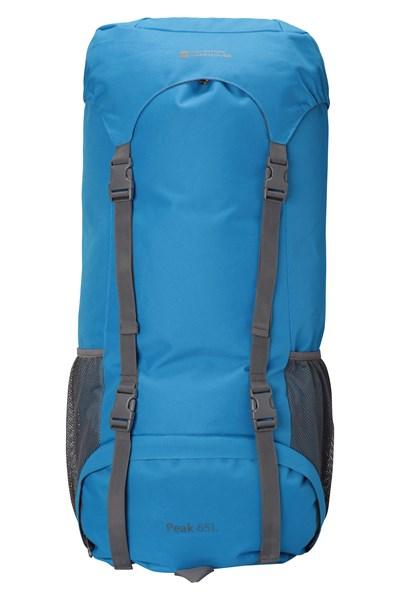 Peak 65L Backpack - Blue