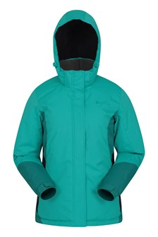 Moon Womens Ski Jacket  Green