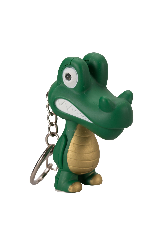 1 LED Croc Torch - Green