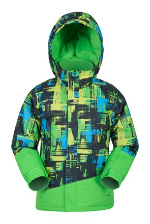 Downhill Kids Printed Ski Jacket