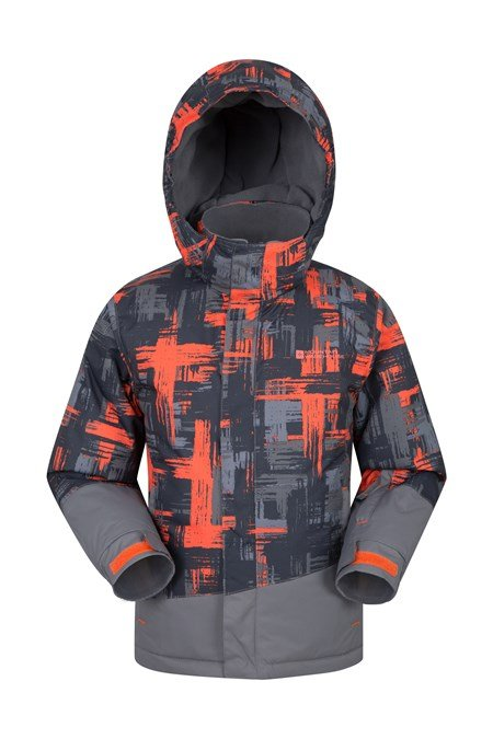 028099 DOWNHILL KIDS PRINTED SKI JACKET