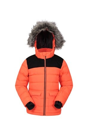 Snow Park Extreme Padded Kids Ski Jacket