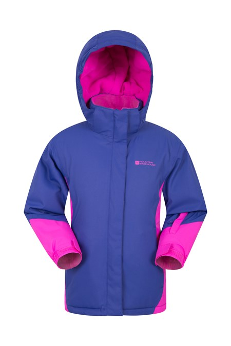 028104 ICICLE WATERPROOF KIDS SNOW JACKET