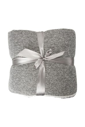 Double Fleece Melange Blanket