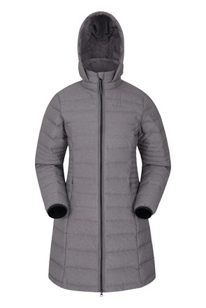 Furnace Womens Long Down Padded Jacket