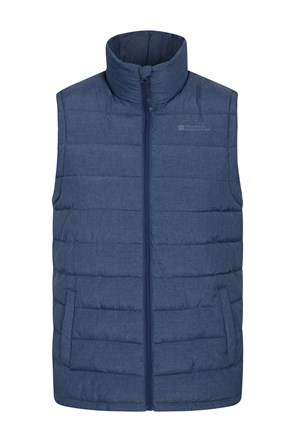 Seasons Mens Textured Padded Gilet