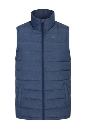 Seasons Mens Textured Insulated Vest