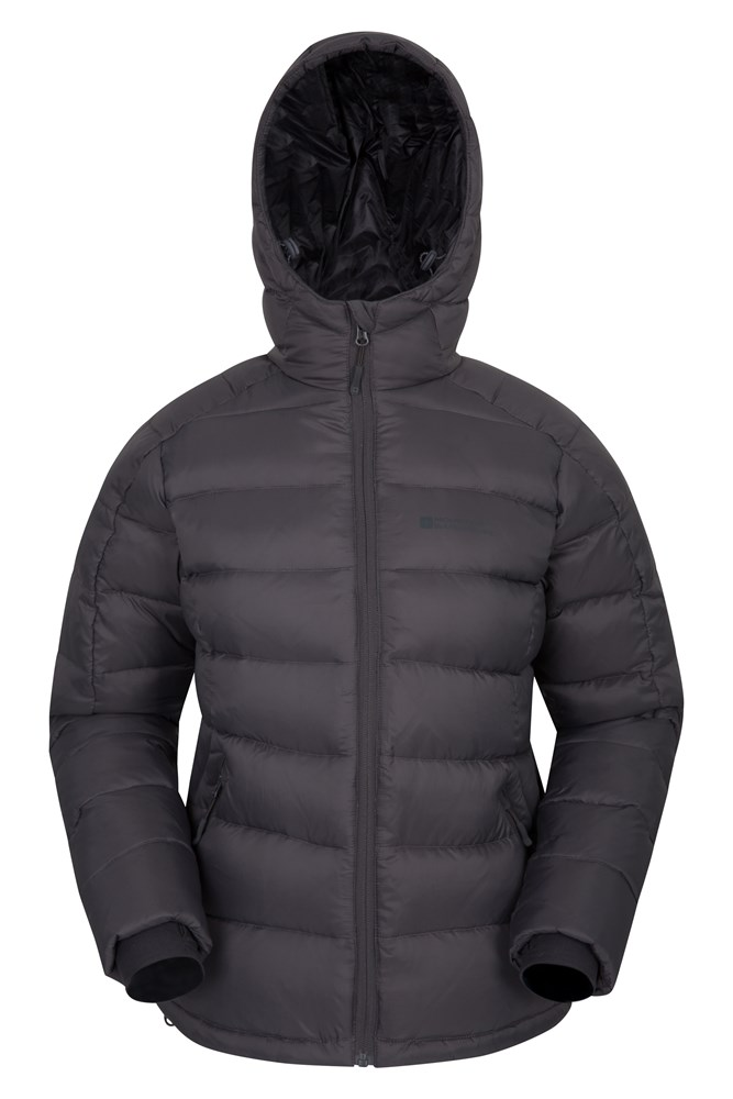 Crevasse Womens Down Jacket - Grey