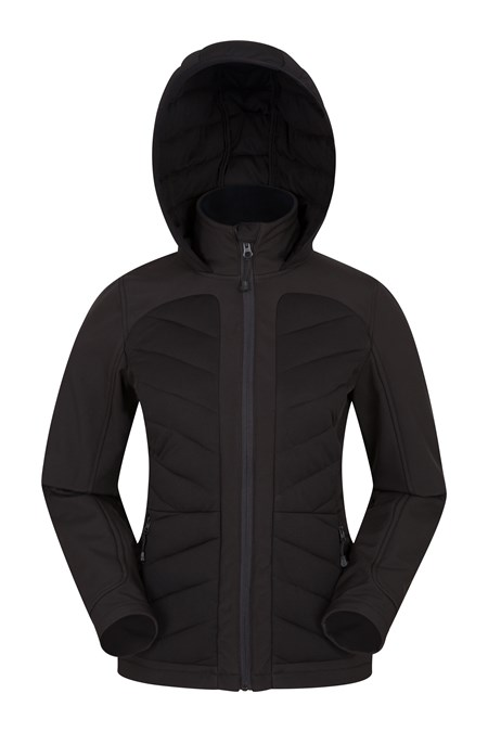 028131 AVIEMORE WOMENS PADDED SOFTSHELL