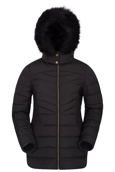 Below Zero Womens Padded Jacket - Black