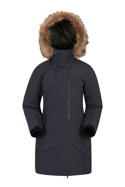 Snowglob - pikowana kurtka damska - Black