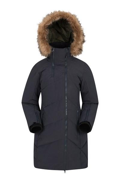 Snowglobe Womens Padded Jacket - Black
