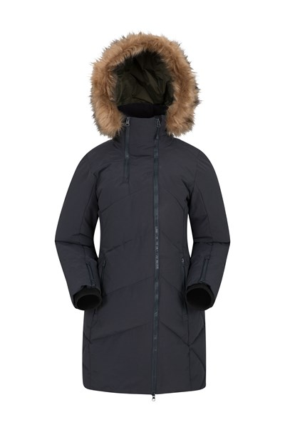 Snowglobe Womens Padded Jacket - Black