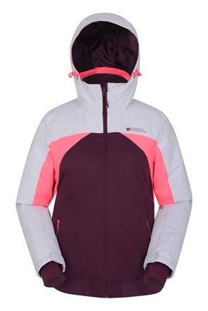 Alpine Sunshine Womens Bomber Ski Jacket