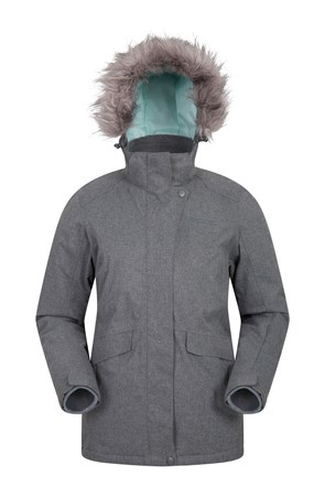 Snowfall Womens Textured Ski Jacket