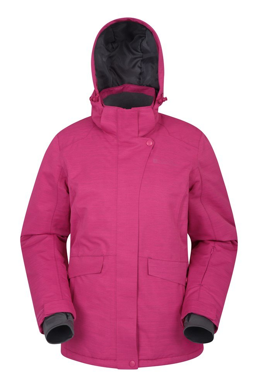 Snowfall - damska kurtka narciarska - Pink