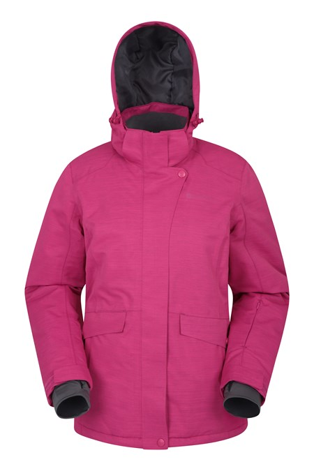 028138 SNOWFALL WOMENS TEXTURED SKI JACKET