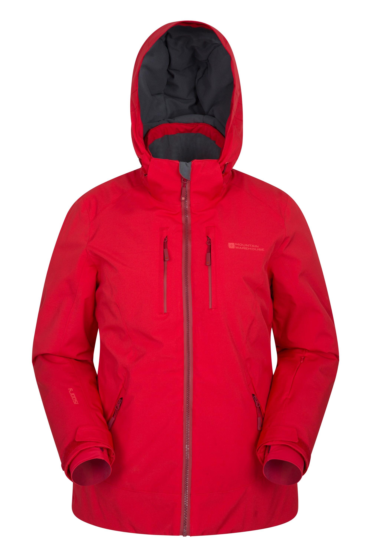 Slopestyle Extreme Damen Skijacke - Rot