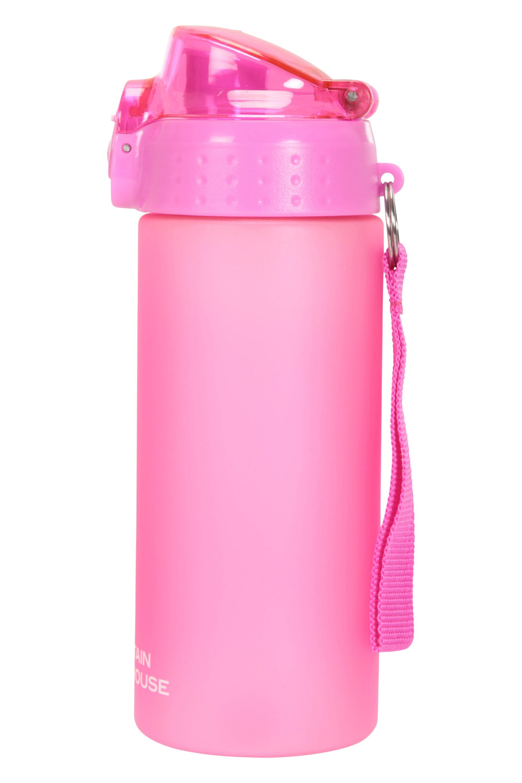 2xMountain Warehouse Uni BPA Free Push Lid Bottle 500ml Purple
