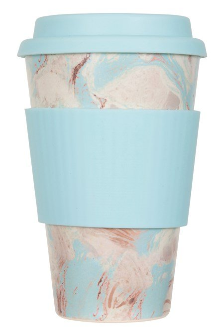 028150 BAMBOO/MELAMINE RE-USABLE CUP PRINTED 400ML