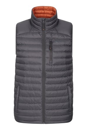 Henry II Down Padded Mens Gilet