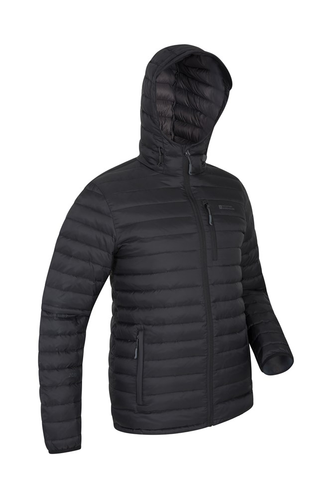2eec9919642 Henry II Mens Down Padded Jacket | Mountain Warehouse GB