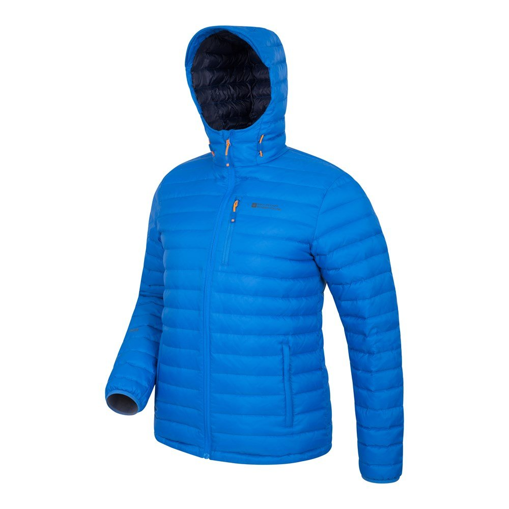 Mountain-Warehouse-Mens-Down-Padded-Jacket-Water-Resistant-Winter-Coat miniatura 19