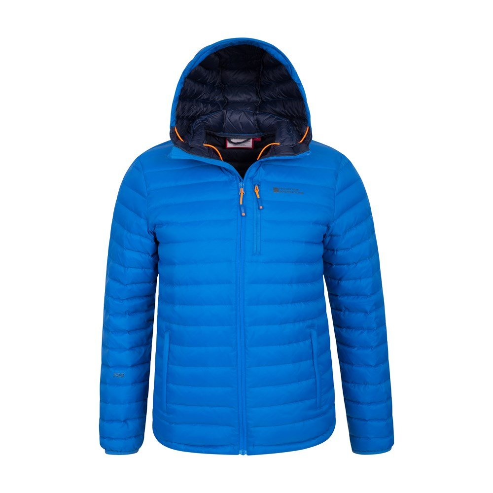 Mountain-Warehouse-Mens-Down-Padded-Jacket-Water-Resistant-Winter-Coat miniatura 20