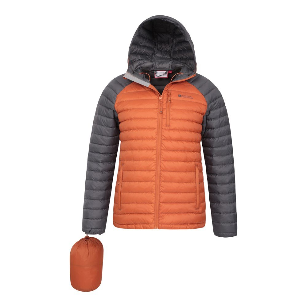 Mountain-Warehouse-Mens-Down-Padded-Jacket-Water-Resistant-Winter-Coat miniatura 26